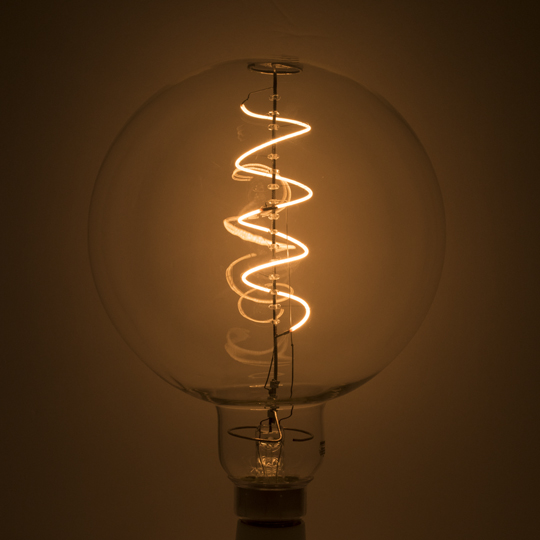 Lamp parts lighting parts chandelier parts 4 watt 120v e 26 4 watt 120v e 26 base led globe shaped grand nostalgic light bulb aloadofball Gallery