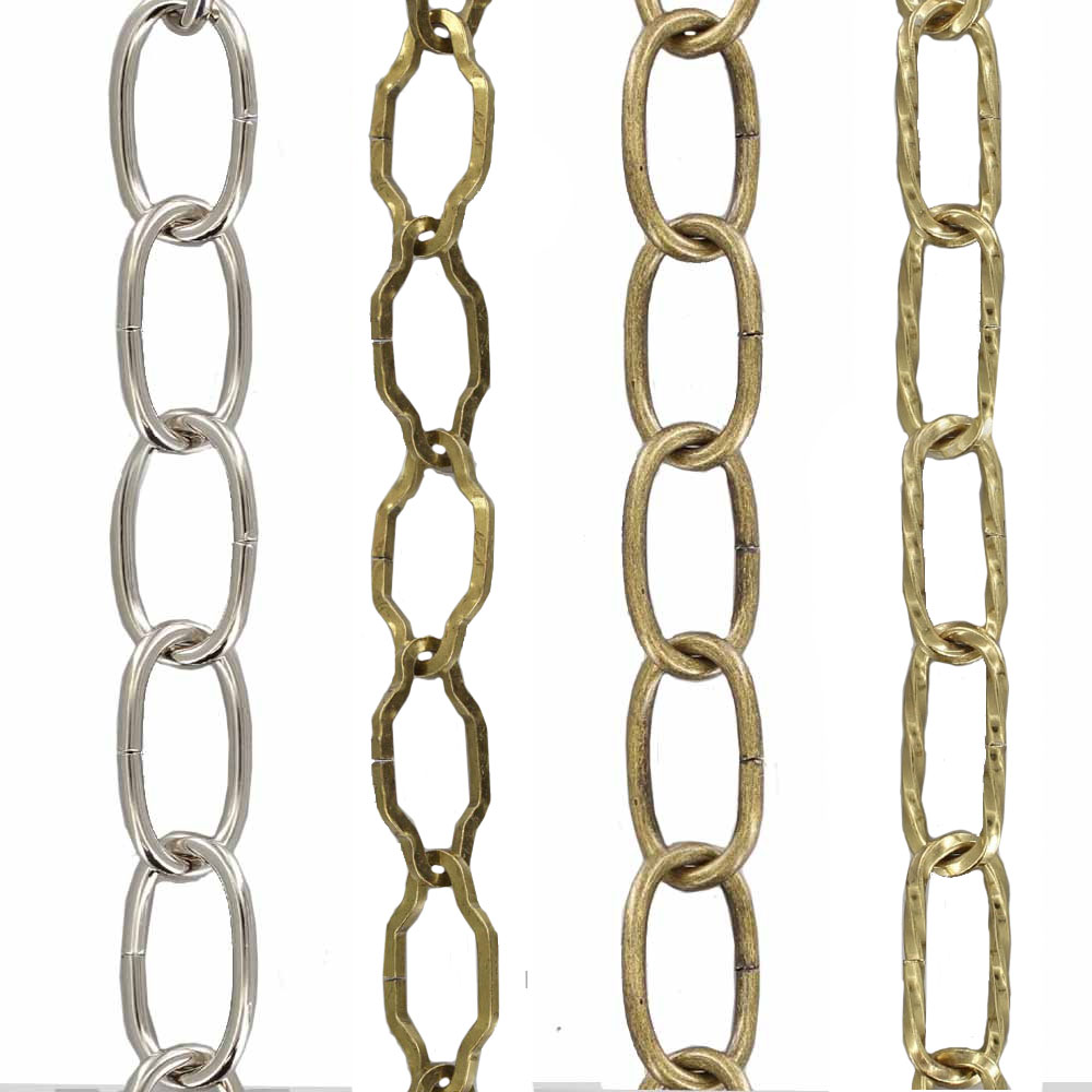 9 GAUGE (1/8IN) COLORED STEEL CHAIN