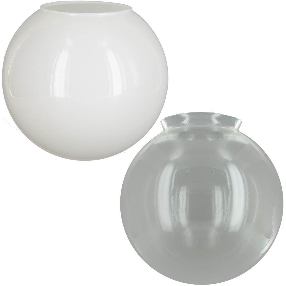 GLASS LAMP SHADES | GLASS SHADE FITTERS | GLASS BALL LAMP SHADES