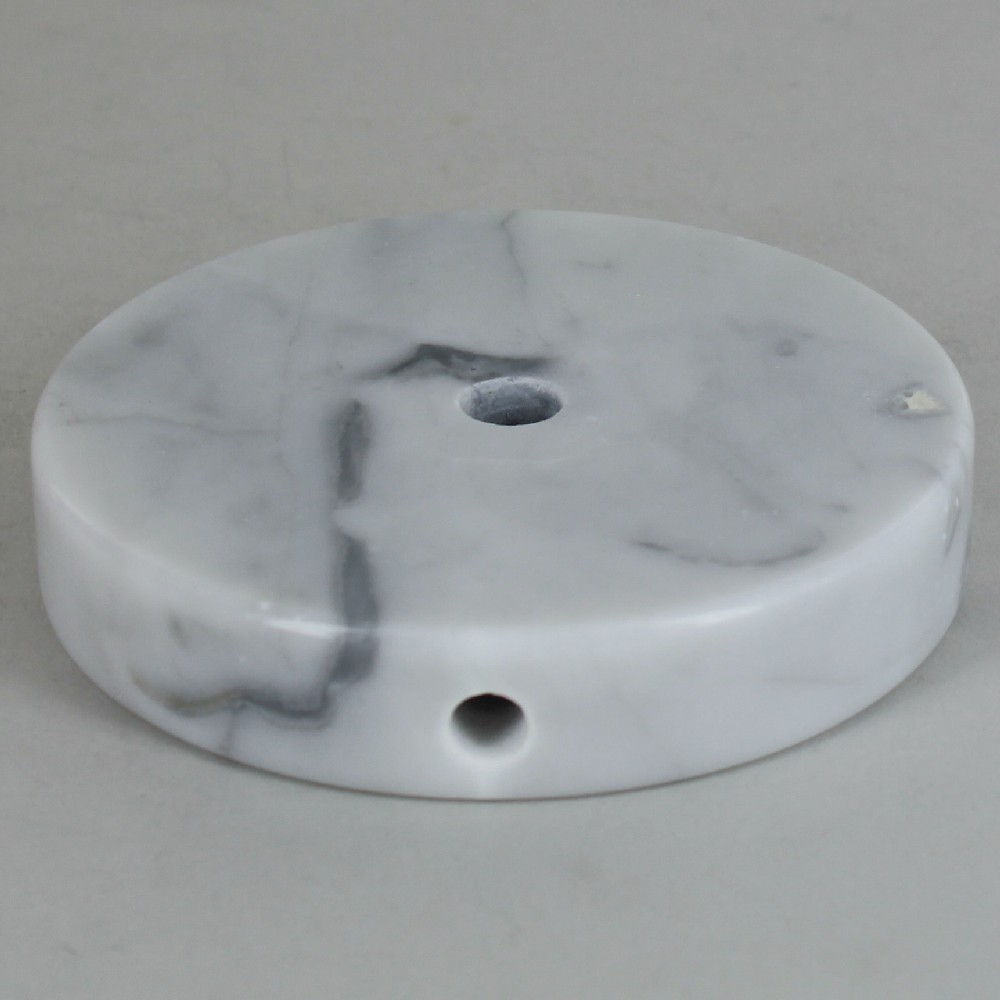 Lamp parts lighting parts chandelier parts 4in diameter round 4in diameter round white marble lamp base aloadofball Choice Image