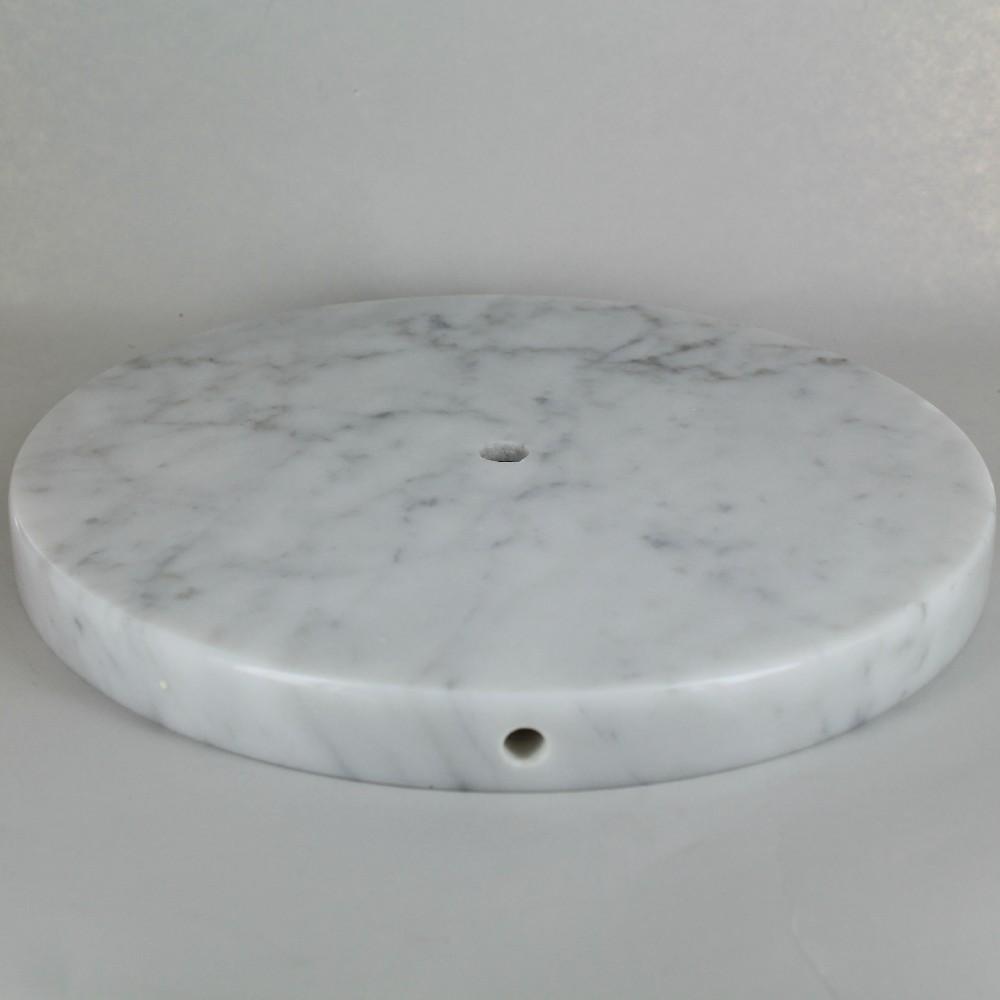 Marble lamp base