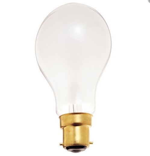 60w 130v frosted b22 base european style bulb