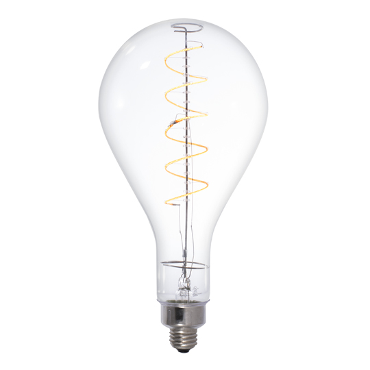 Lamp parts lighting parts chandelier parts 4 watt 120v e 26 4 watt 120v e 26 base led pear shaped grand nostalgic light bulb aloadofball Gallery
