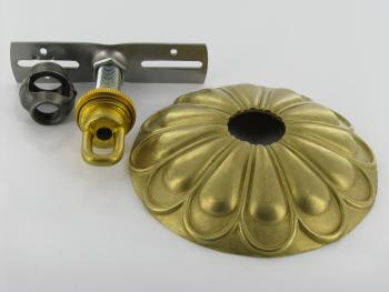 Lamp Parts - Lighting Parts - Chandelier Parts | Unfinished Brass ...