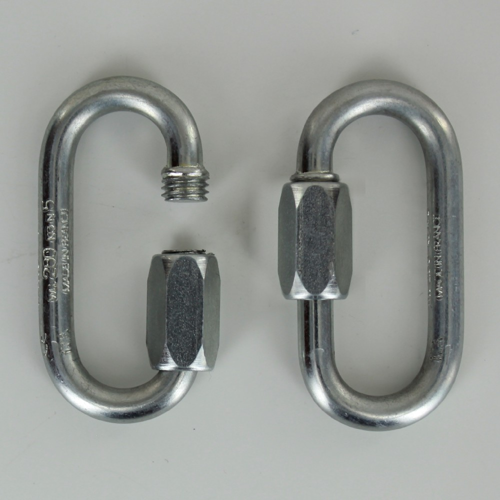 3/16IN. THICK GALVANIZED STEEL QUICK LINK