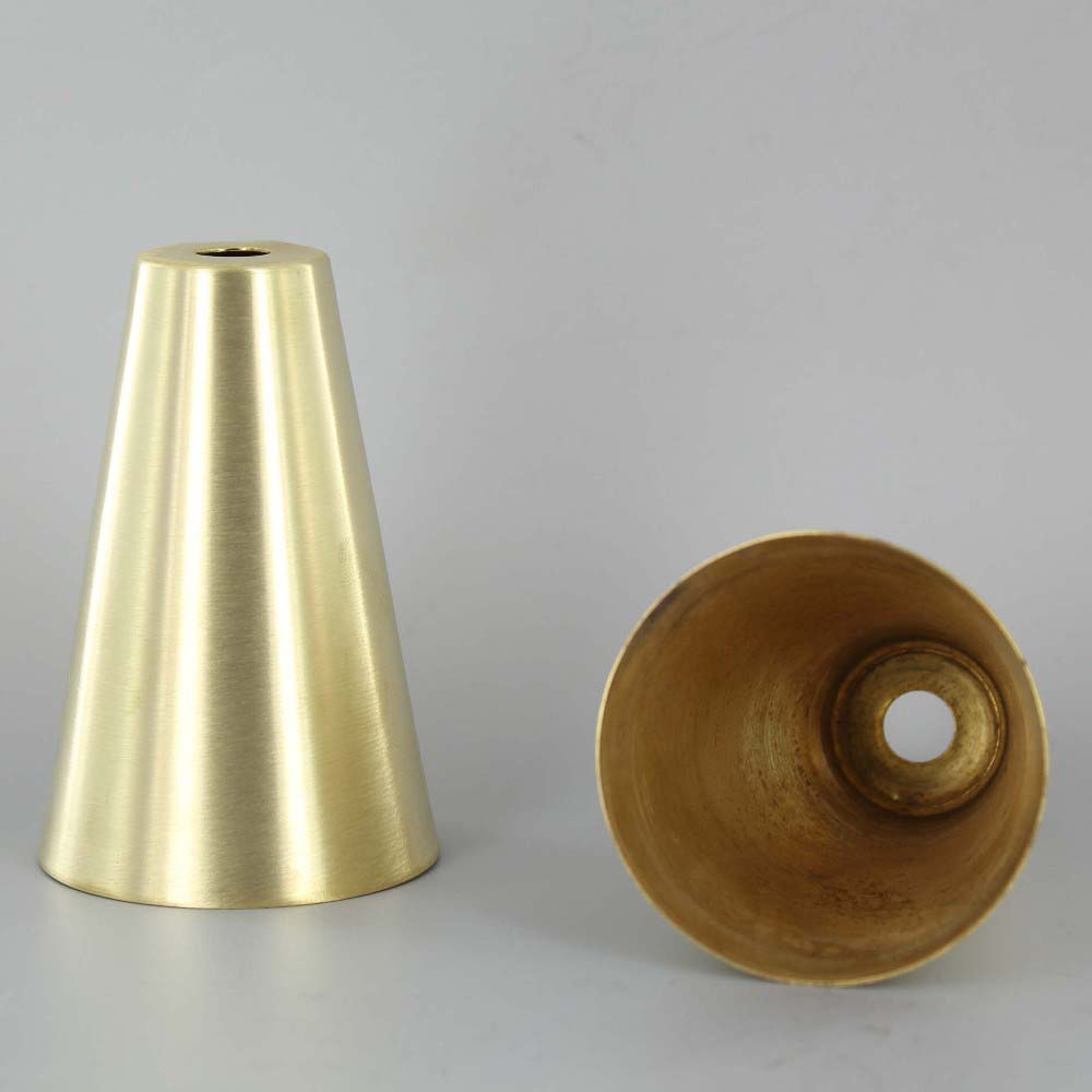 Grand Brass Lamp Parts Lamp parts lighting parts chandelier parts 3 12in unfinished unfinished brass cone cup audiocablefo