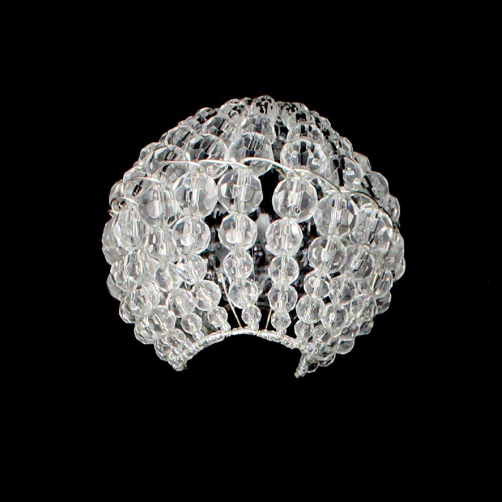 Candelabra E 12 Crystal Bulb Cover