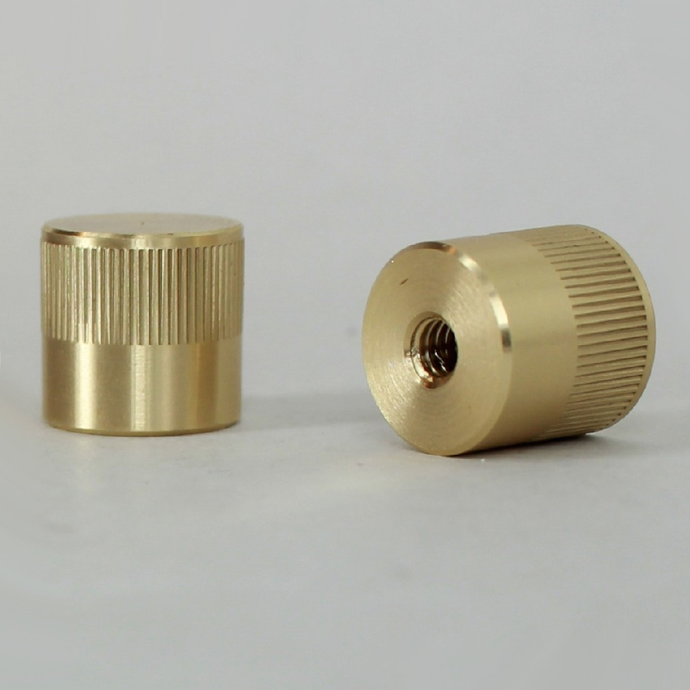 Grand Brass Lamp Parts Lamp parts lighting parts chandelier parts 832 threaded 832 female threaded 12in tall knurled cylinder cap unfinished brass audiocablefo