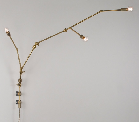 Lamp parts lighting parts chandelier parts you make it wall you make it wall sconce kit by lindsey adelman studio aloadofball Gallery