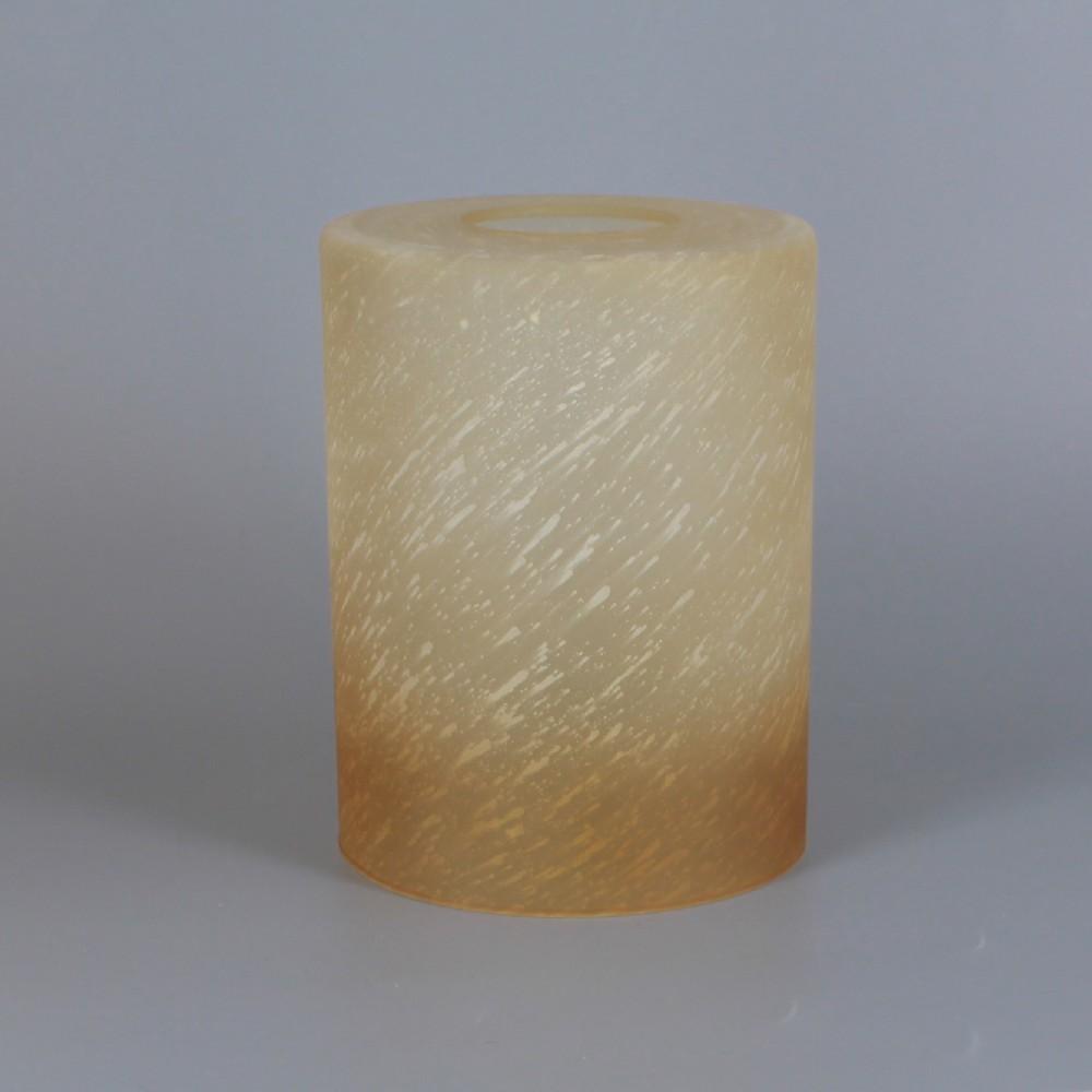 Amber Harvest Finish Cylinder Gl Shade