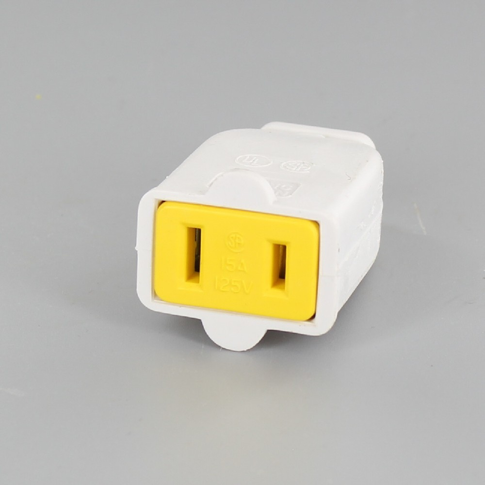 WHITE STANDARD GRADE THERMOPLASTIC SPRING ACTION NON-GROUNDING CONNECTORS